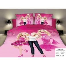 """Детское постельное белье """"Барби, Barbi"""""""