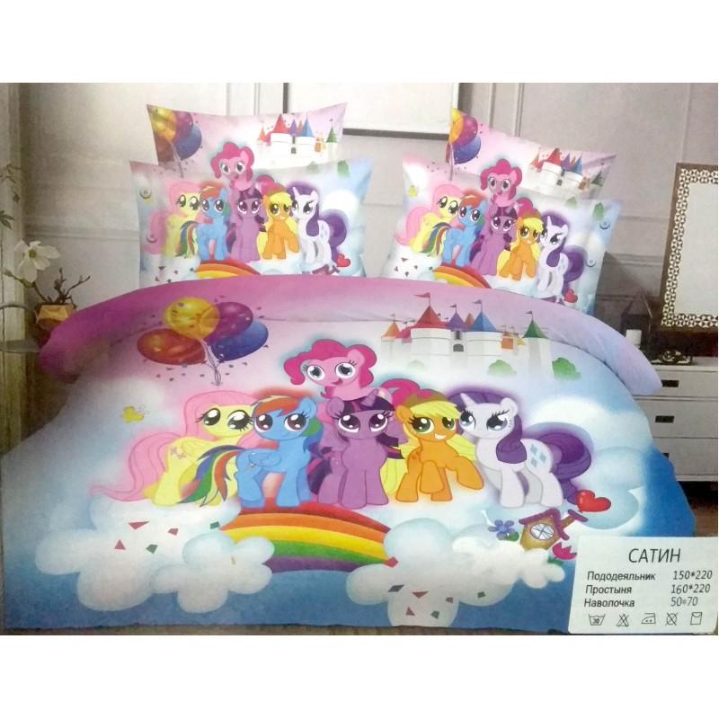 """Детское постельное белье """"Little pony""""  Литл Пони №2"""