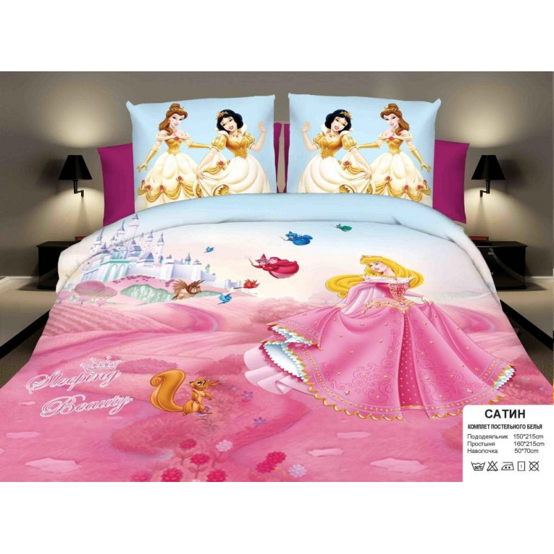 Комплекты постельного белья для девочек