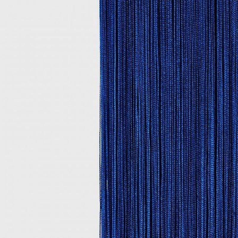 Шторы-нити (кисея). Синяя