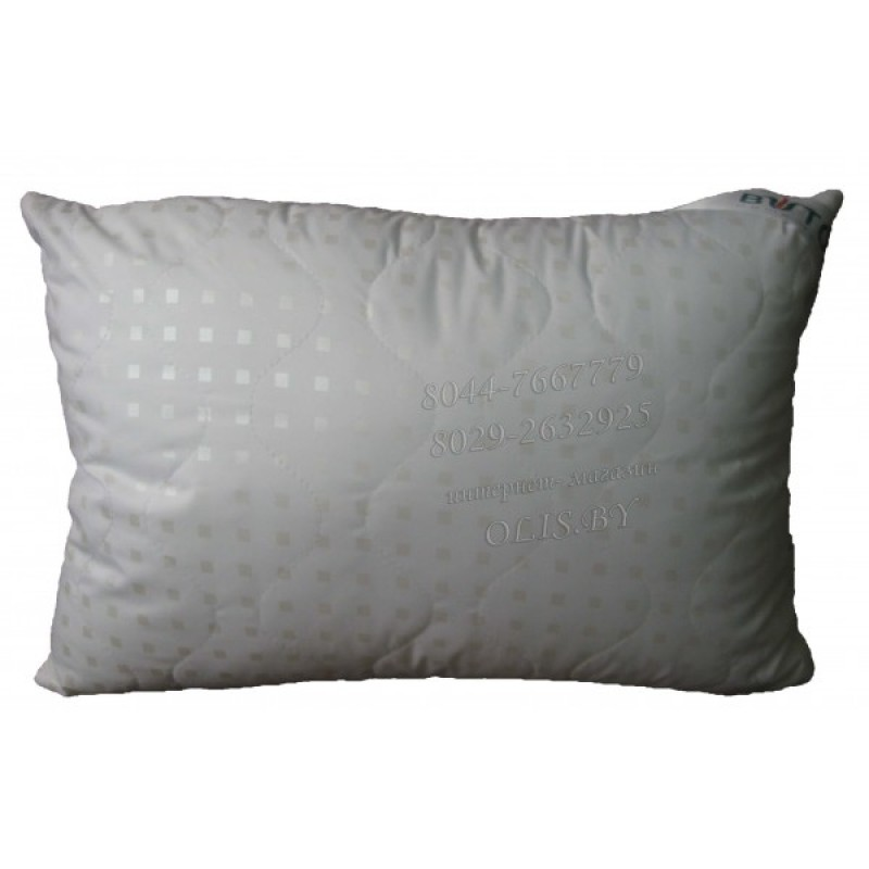 Подушка бамбуковая. Тик/сатин