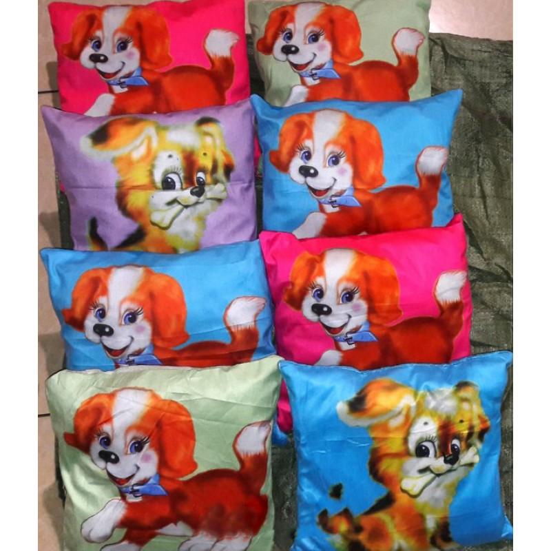 Декоративная подушка (наволочка) собачка